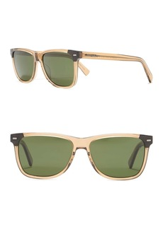 Ermenegildo Zegna 56mm Square Sunglasses