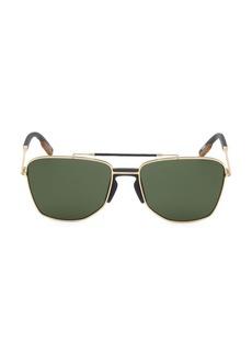 Ermenegildo Zegna 58MM Square Sunglasses