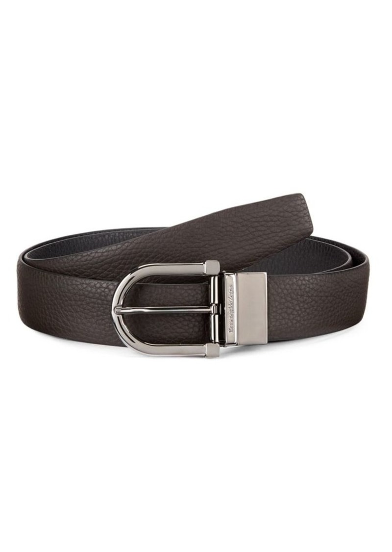 Ermenegildo Zegna Adjustable & Reversible Leather Belt