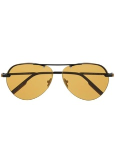 Ermenegildo Zegna aviator sunglasses