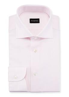 Ermenegildo Zegna Basketweave Dress Shirt