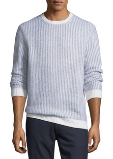 Ermenegildo Zegna Cashmere-Blend Textured-Knit Sweater
