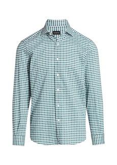 Ermenegildo Zegna Check Dress Shirt