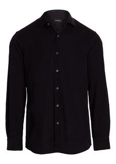 Ermenegildo Zegna Classic Corduroy Shirt