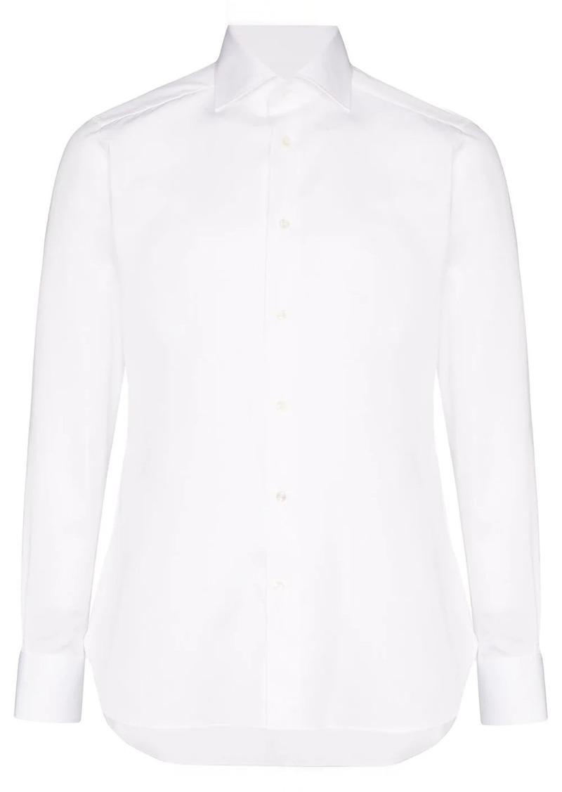 Ermenegildo Zegna classic piping shirt