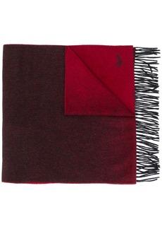 Ermenegildo Zegna colour block scarf