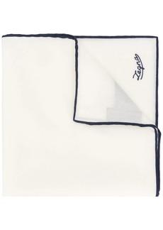 Ermenegildo Zegna contrast trim scarf