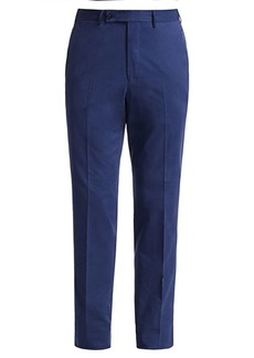 Ermenegildo Zegna Cotton & Cashmere-Blend Trousers