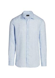 Ermenegildo Zegna Cotton Dress Shirt