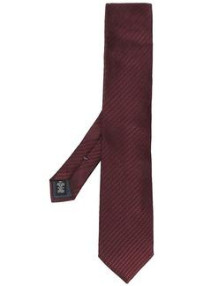 Ermenegildo Zegna diagonal striped necktie