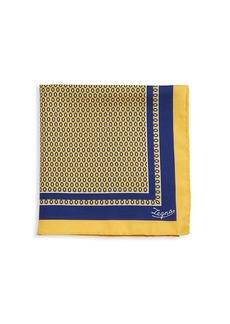 Ermenegildo Zegna Diamond Silk Pocket Square