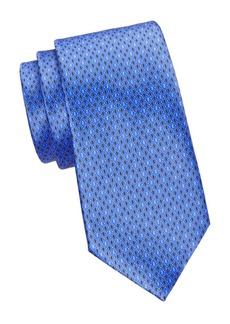 Ermenegildo Zegna Digital Silk Tie