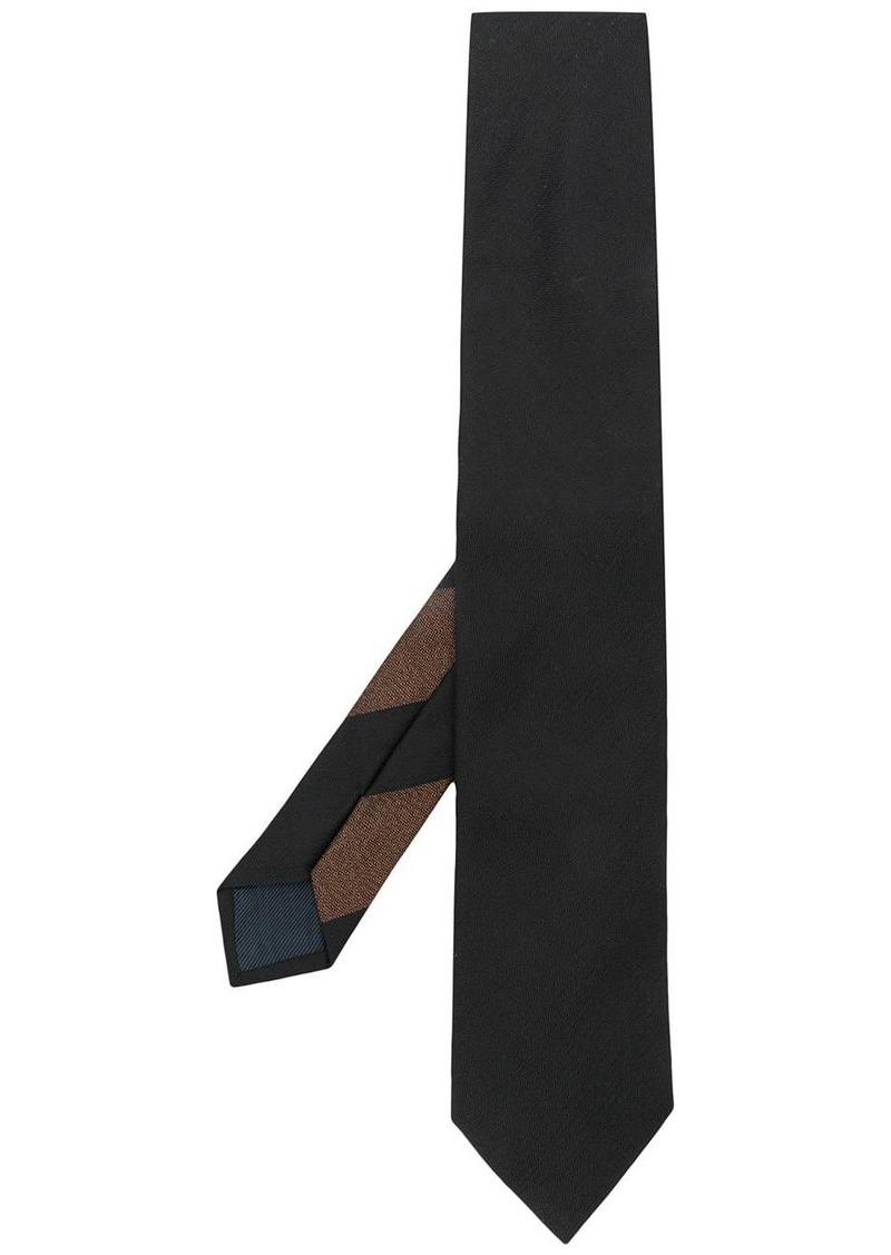 Ermenegildo Zegna embroidered twill tie