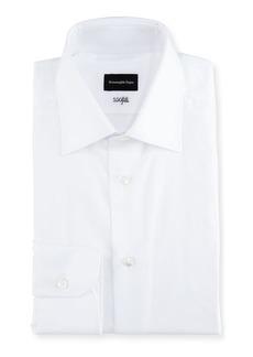 Ermenegildo Zegna 100Fili Solid Dress Shirt