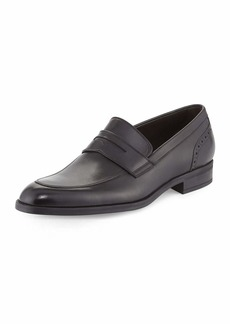 Ermenegildo Zegna Calf Leather Penny Loafer