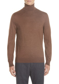 Ermenegildo Zegna Cashmere & Silk Turtleneck Sweater