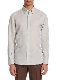 Ermenegildo Zegna Chambray Button-Down Shirt