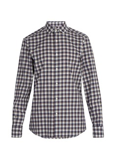 Ermenegildo Zegna Checked cotton shirt