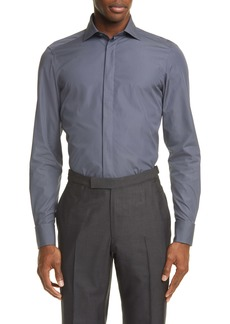 Ermenegildo Zegna Classic Fit Button-Up Shirt
