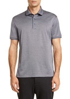 Ermenegildo Zegna Classic Fit Cotton Polo Shirt