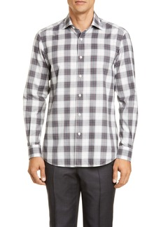 Ermenegildo Zegna Classic Fit Plaid Button-Up Shirt