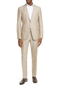 Ermenegildo Zegna Classic Fit Silk & Wool Suit