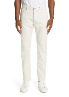 Ermenegildo Zegna Classic Fit Stretch Cotton Five Pocket Pants