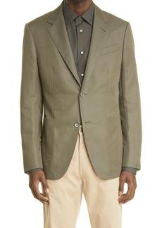 Ermenegildo Zegna Cotton & Linen Sport Coat