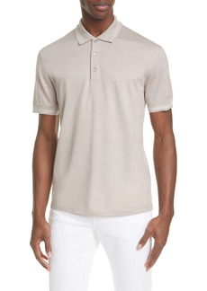 Ermenegildo Zegna Cotton & Silk Polo Shirt