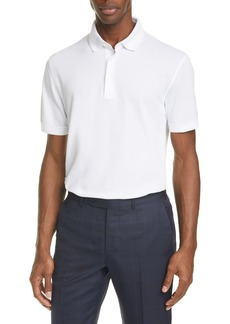Ermenegildo Zegna Cotton Piqué Polo Shirt