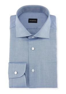 Ermenegildo Zegna Cotton Pique Dress Shirt