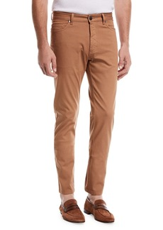 Ermenegildo Zegna Garment-Dyed 5-Pocket Pants