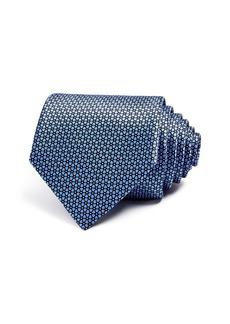 Ermenegildo Zegna Geometric Floral Classic Tie