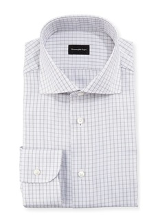 Ermenegildo Zegna Graph Check Dress Shirt