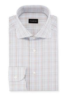 Ermenegildo Zegna Graph Check Dress Shirt
