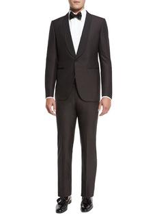 Ermenegildo Zegna Grosgrain-Collar Tuxedo Suit