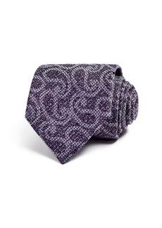 Ermenegildo Zegna Heathered Paisley Classic Tie