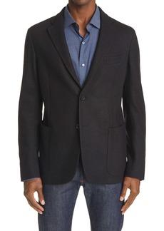 Ermenegildo Zegna Jerseywear Cotton & Cashmere Sport Coat