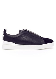 Ermenegildo Zegna Leather low-top trainers