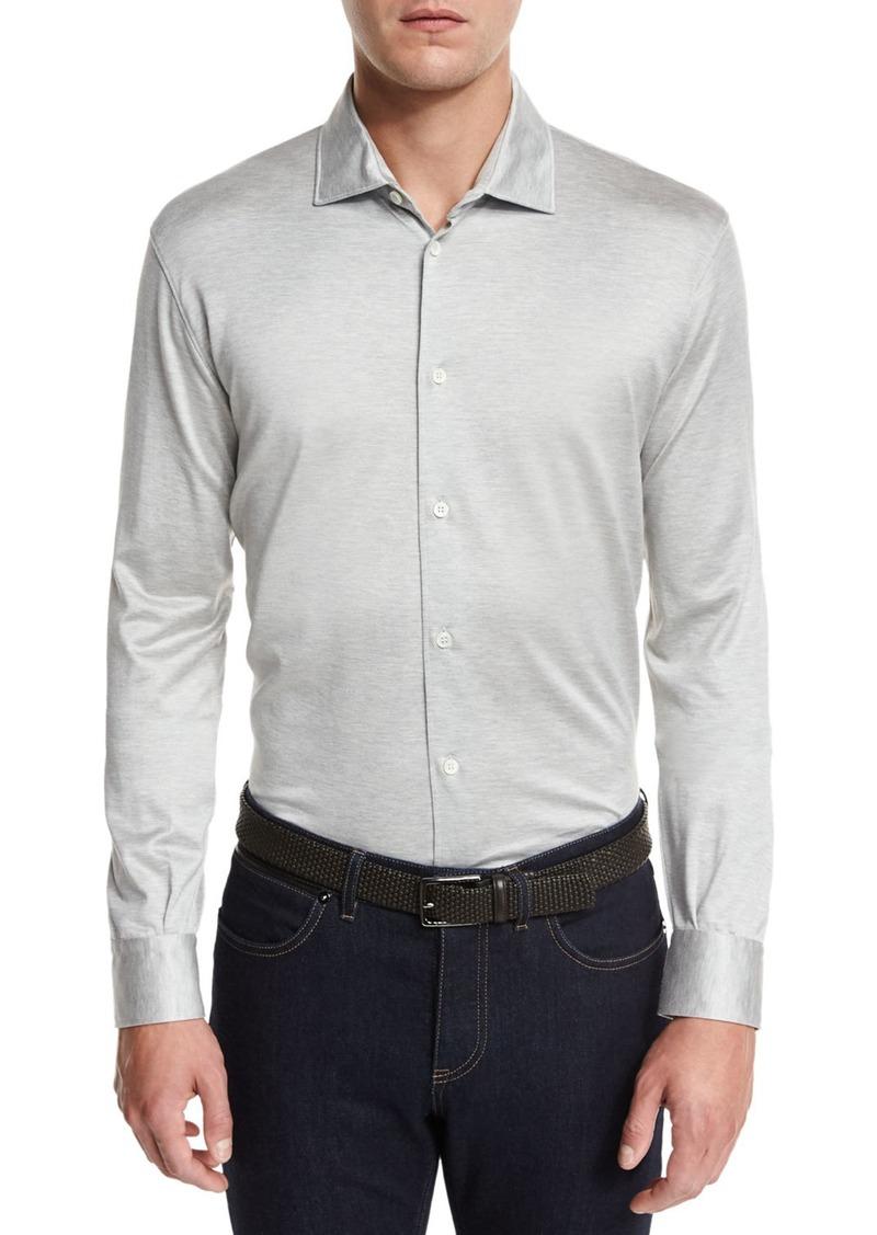 Ermenegildo zegna ermenegildo zegna long sleeve button for Zegna polo shirts sale