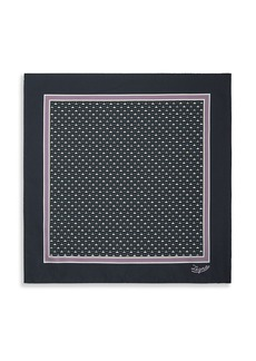 Ermenegildo Zegna Men's Geo-Print Pocket Square