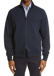 Ermenegildo Zegna Men's Premium Cotton Zip Sweatshirt