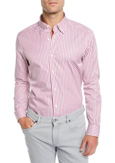 Ermenegildo Zegna Men's Striped Sport Shirt