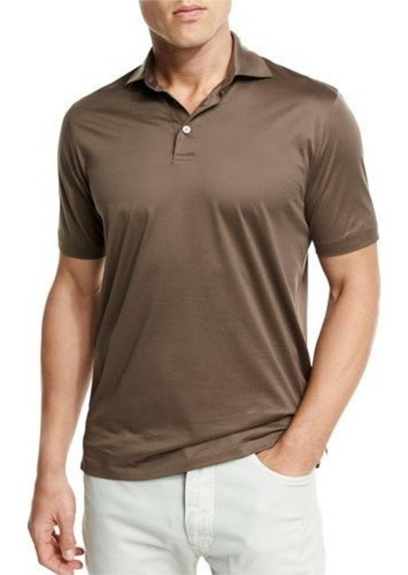 Ermenegildo zegna ermenegildo zegna mercerized cotton polo for Zegna polo shirts sale