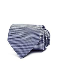 Ermenegildo Zegna Micro Grid Classic Tie