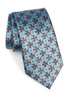 Ermenegildo Zegna Microfloral Silk Tie