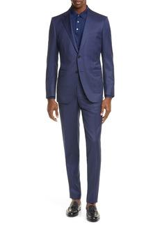 Ermenegildo Zegna Milano Classic Fit Check Wool Suit