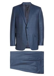 Ermenegildo Zegna Milano Classic Fit Plaid Wool Suit