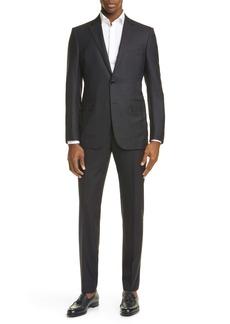 Ermenegildo Zegna Milano Classic Fit Solid Wool Suit