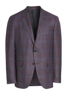 Ermenegildo Zegna Milano Easy Classic Fit Wool, Linen & Silk Sport Coat
